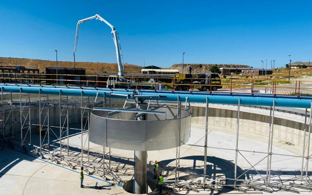 Belville waste water plant